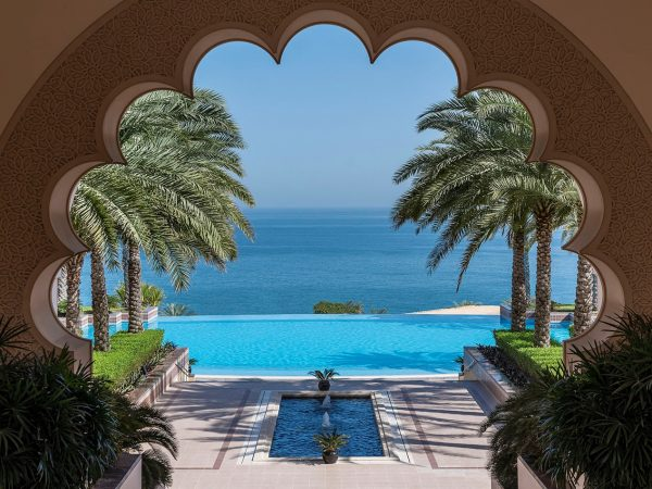 Shangri-La Al Husn Resort and Spa Hotel Pool View