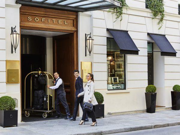 Sofitel Paris le Faubourg Hotel View