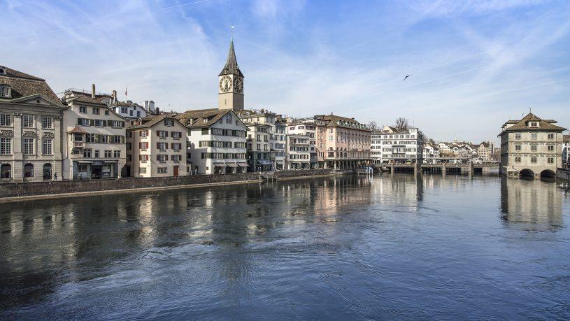 Storchen Zurich Hotel View