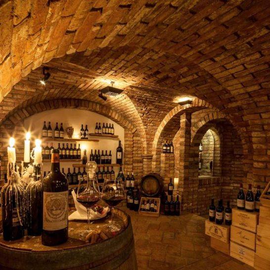 Villa Orselina Locarno Wine Cellar