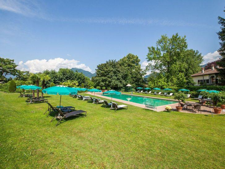 Villa Principe Leopoldo Lugano Pool