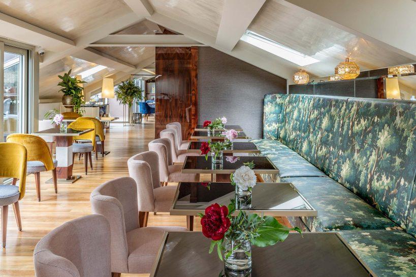 Vista Palazzo Lago di Como Restaurant