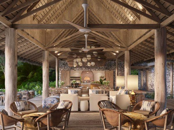 Wa Ale Island Resort Myanmar Beach Restaurant