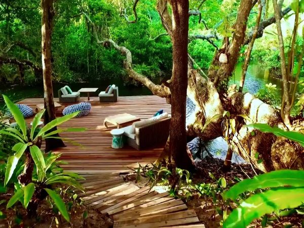 Wa Ale Island Resort Myanmar River Cafe