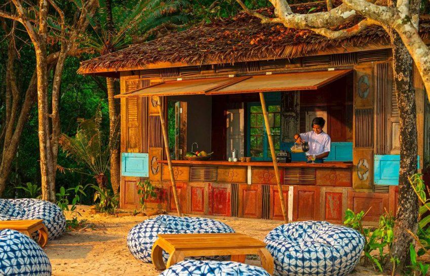 Wa Ale Island Resort Myanmar River Cafe Bar