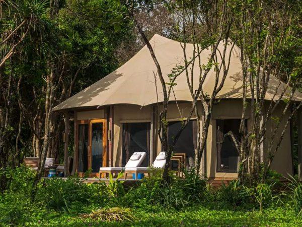 Wa Ale Island Resort Myanmar Tented Beach Villa Exterior
