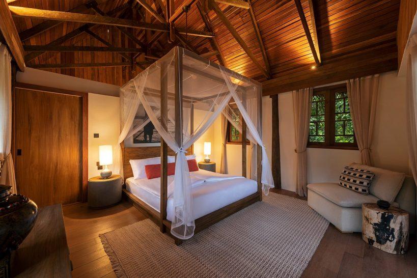 Wa Ale Island Resort Myanmar Treetop Villa Bedroom