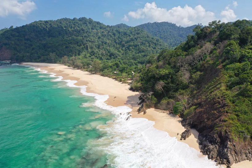 Wa Ale Island Resort Myanmar Turtle Beach