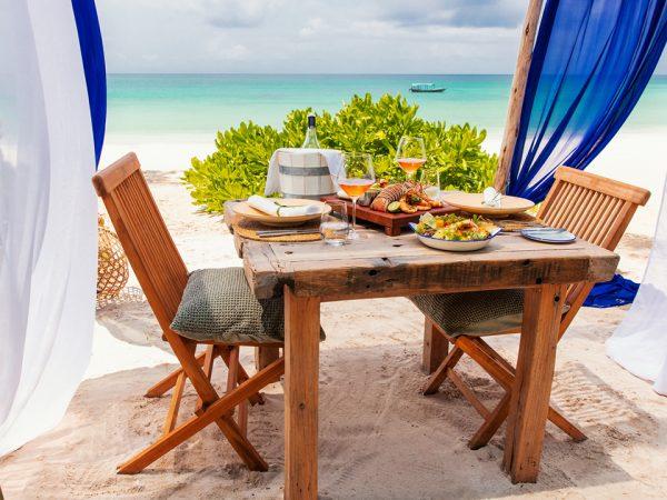 Zuri Zanzibar Lunch on the Beach