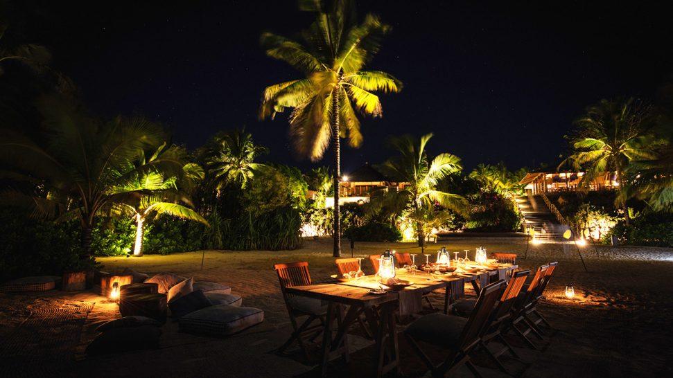 Zuri Zanzibar Romantic Dinner on the Beach