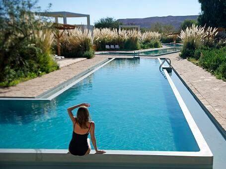 Explora Atacama Chile spa pool