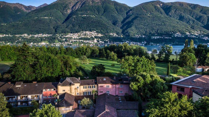 Castello del Sole Ascona Panorama