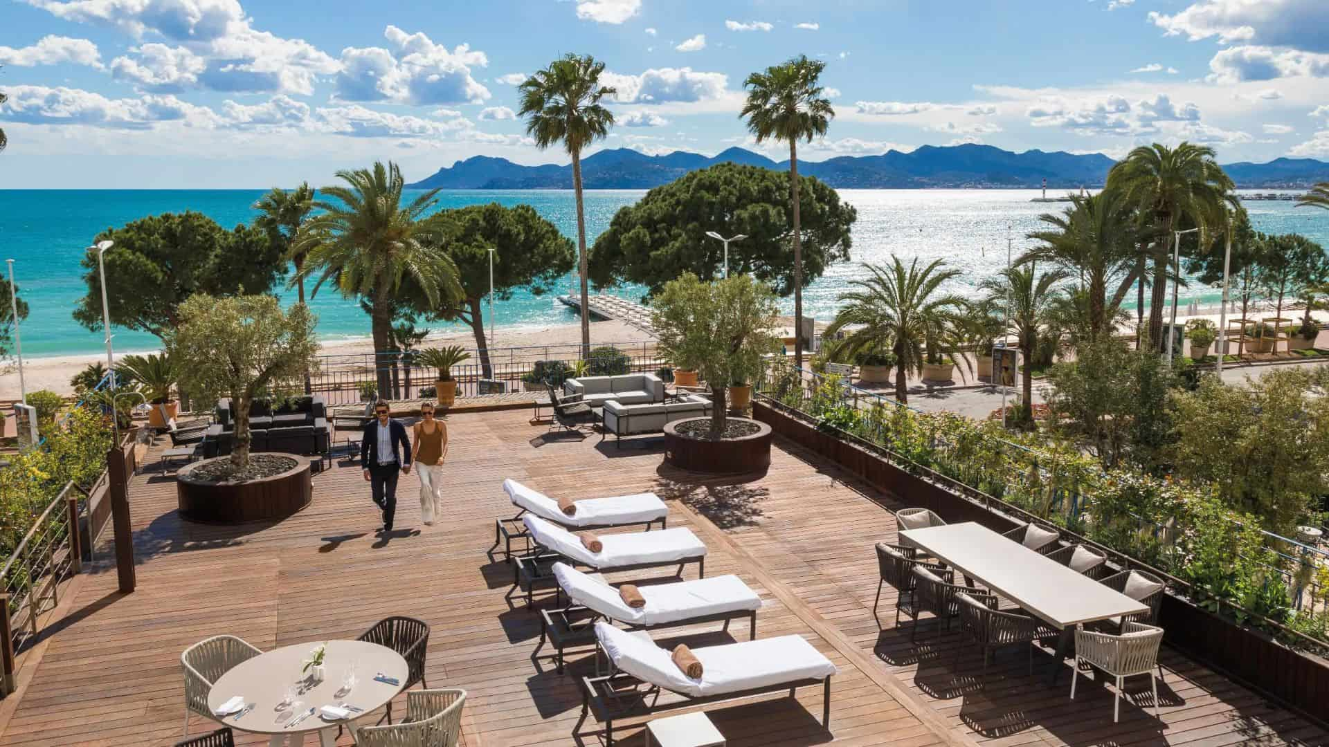 Hotel Martinez Cannes Terrace
