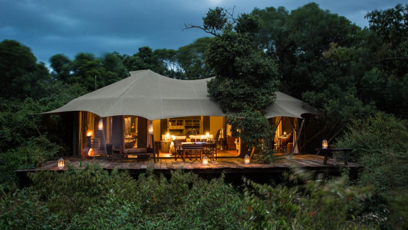 Mara Plains Camp Tent Kenya