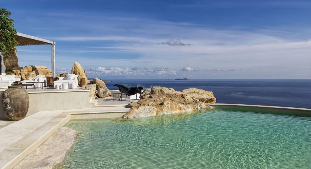 Myconian Panoptis Escape Mykonos 21 Bedroom Villa Pool