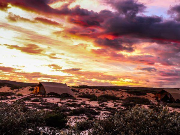 Sal Salis Ningaloo Reef Sunset