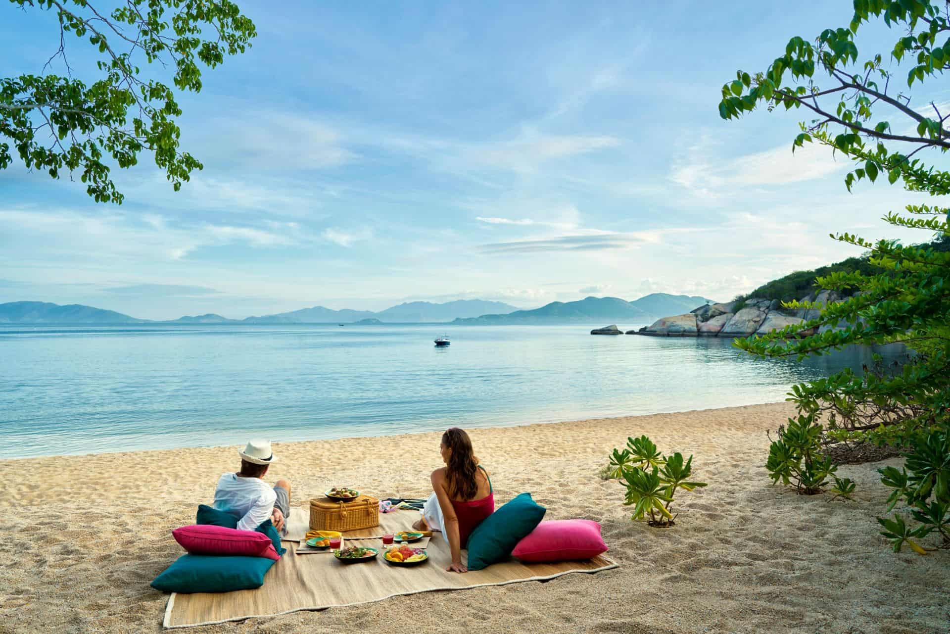 Six Senses Ninh Van Bay Beach Picnic