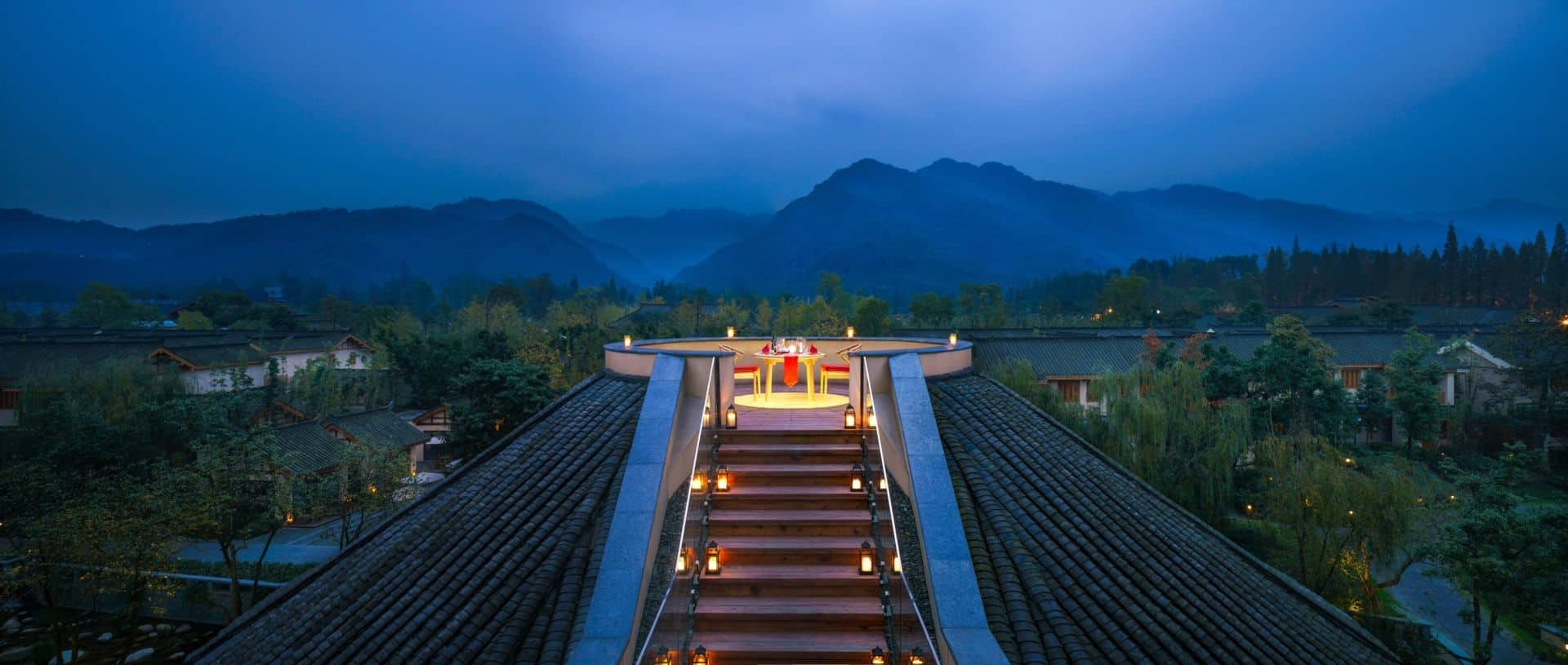 Six Senses Qing Cheng Mountain Romantic Dining
