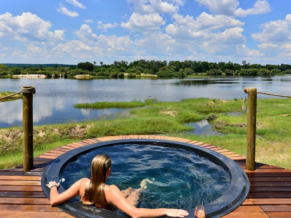 Victoria Falls River Lodge Luxury Tent Pool
