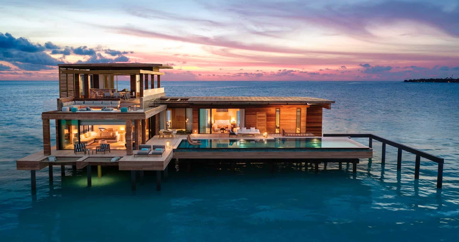Waldorf Astoria Maldives Ithaafushi Stella Maris Duplex Ocean Villa With Private Pool