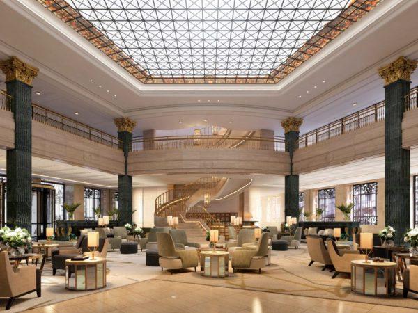 Four Seasons Madrid Lobby Lounge