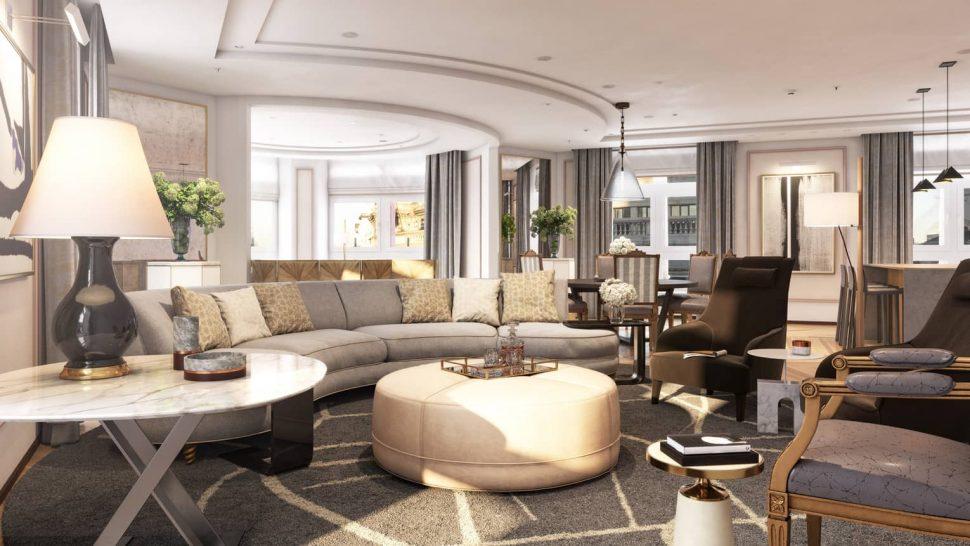 Four Seasons Madrid Presidential Suite