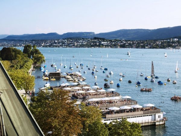 La Reserve Eden au Lac Zurich View