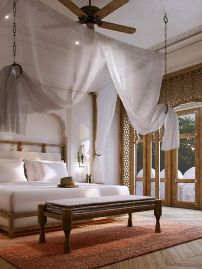 Six Senses Fort Barwara Bedroom