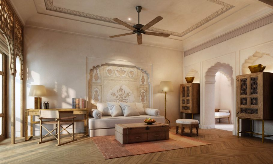 Six Senses Fort Barwara Living Room