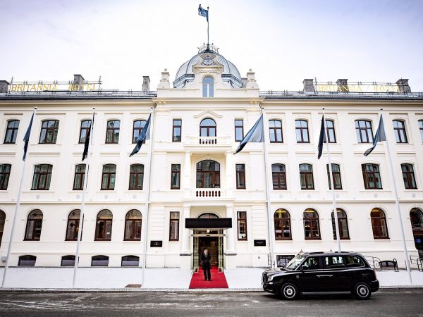 Britannia Hotel Trondheim Entrance