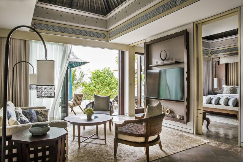 Jumeirah Bali Villa Living Room