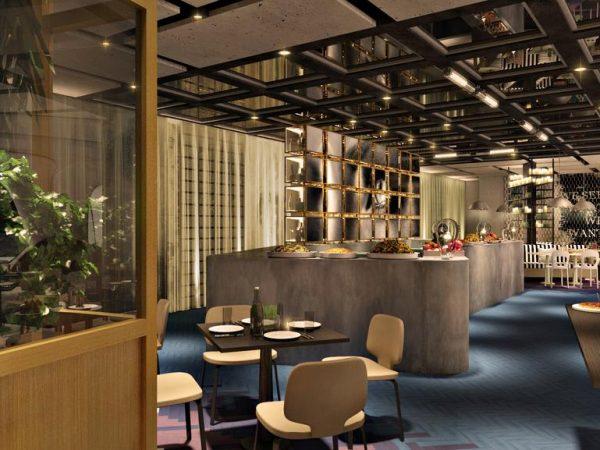 ME Dubai by Melia Central Cosmo Tapas & Bar