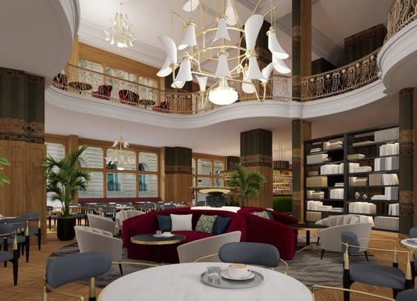 Matild Palace A Luxury Collection Hotel Cafe