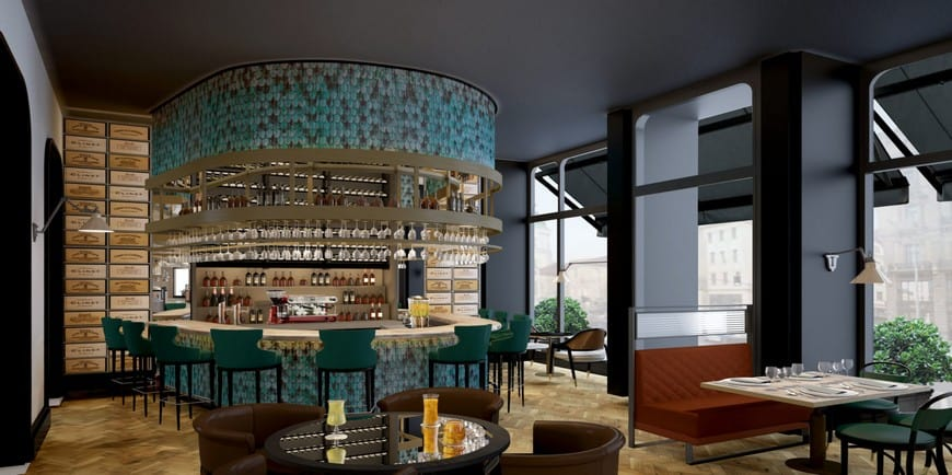 Matild Palace A Luxury Collection Hotel Dunn Lounge and Bistro