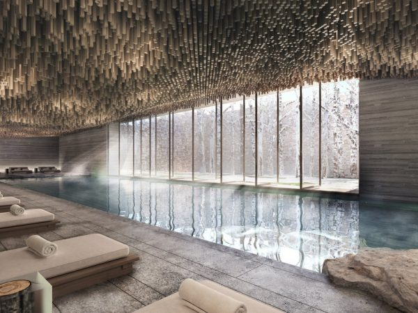Six Senses Residences Crans Montana Indoor Pool