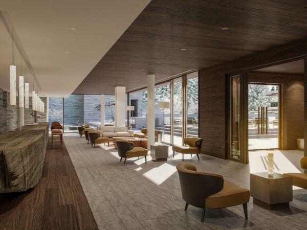 Six Senses Residences Crans Montana Lobby