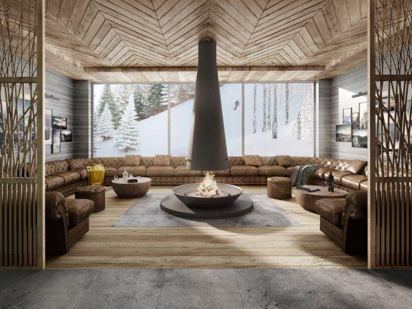 Six Senses Residences Crans Montana Lounge