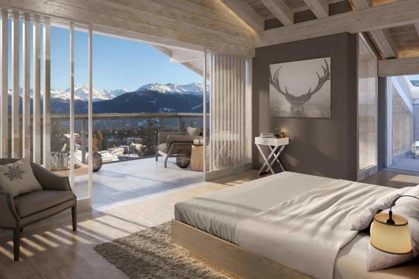 Six Senses Residences Crans Montana Suite