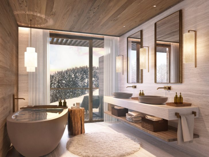 Six Senses Residences Crans Montana Suite Bathroom