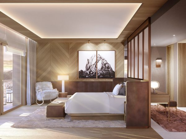 Six Senses Residences Crans Montana Suite Bedroom