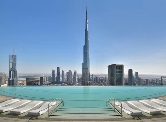 Address Sky View Dubai Pool