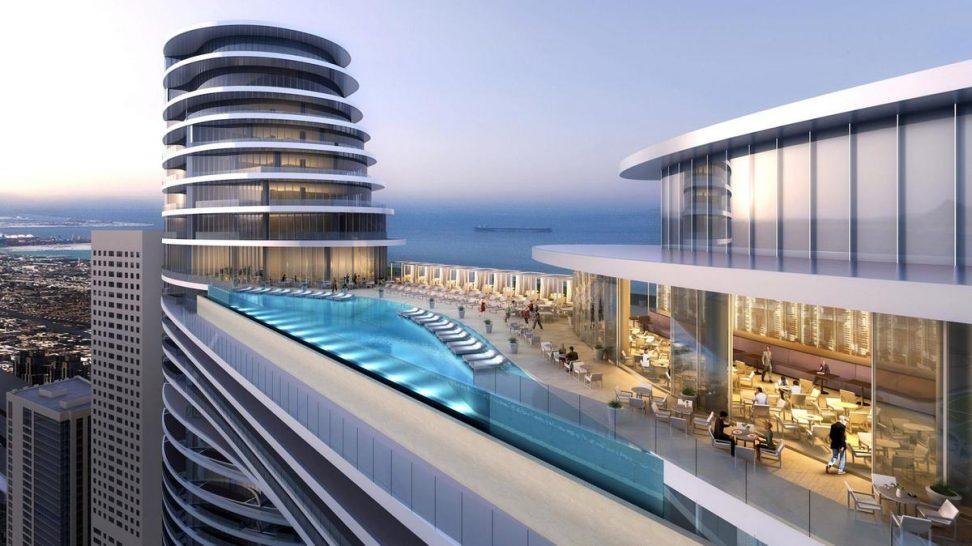 Address Sky View Dubai Rooftop Pool