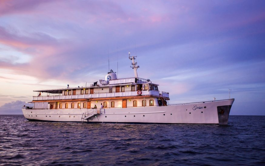 Quasar Expeditions Grace Kelly Yacht Galapagos Islands