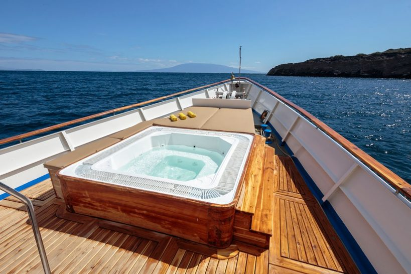 Quasar Expeditions Grace Kelly Yacht Jacuzzi