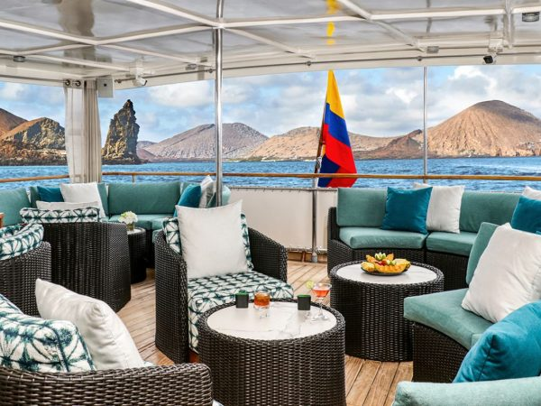 Quasar Expeditions Grace Kelly Yacht Outside Salon
