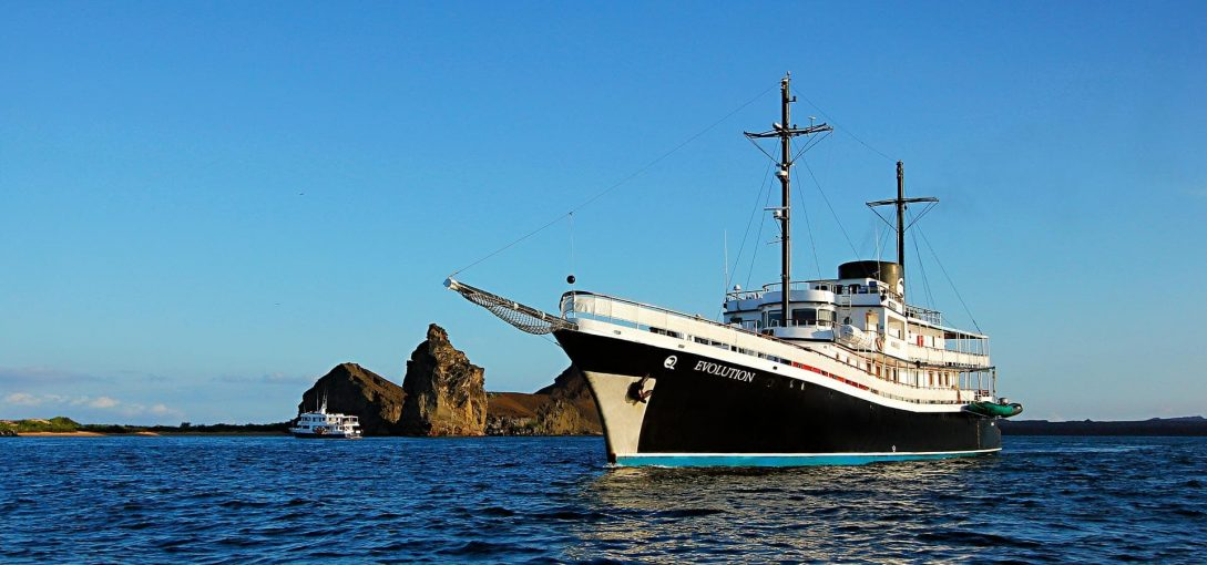 Quasar Expeditions MV Evolution Yacht Galapagos Islands