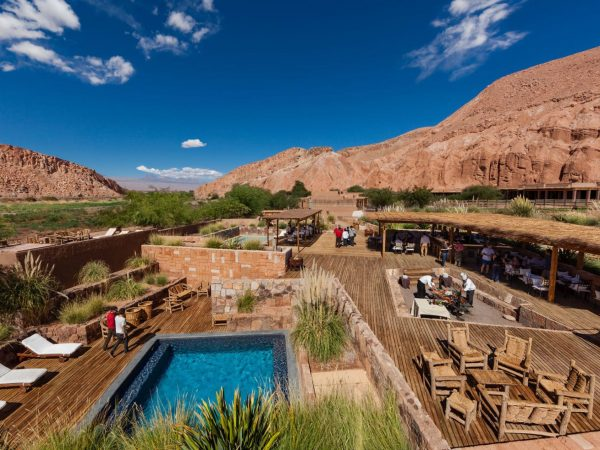 Alto Atacama Desert Lodge Spa Pool