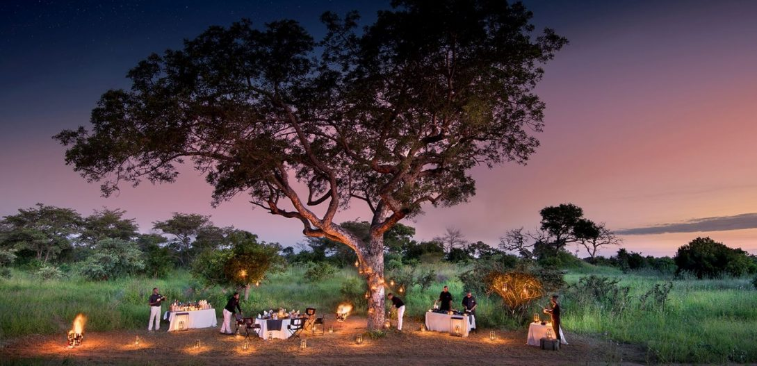 Cheetah Plains Sabi Sand Lodge Bush Dining