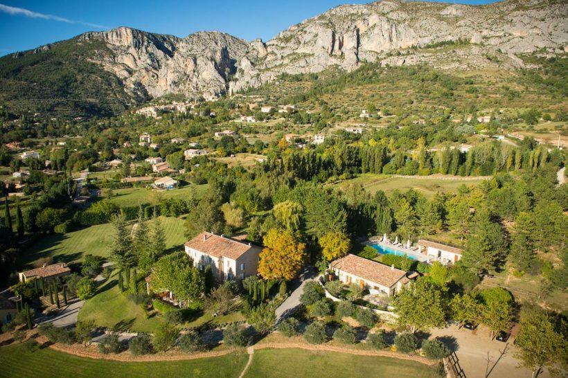 La Bastide de Moustiers Provence Panorama