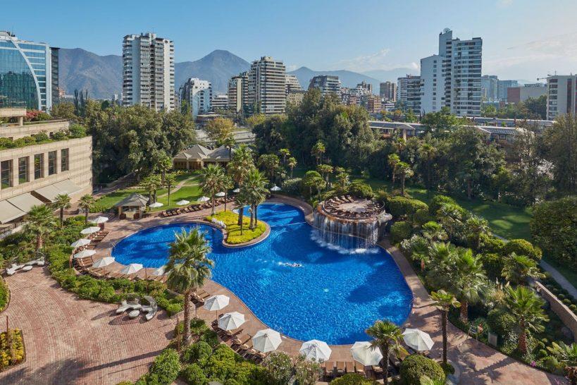 Mandarin Oriental Santiago Pool